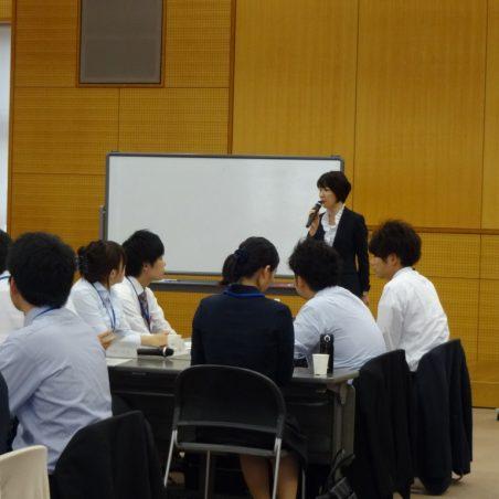 グループワークでの講義