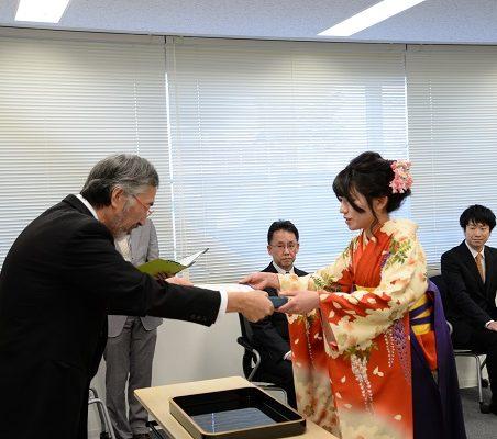 福井CST認定書の授与