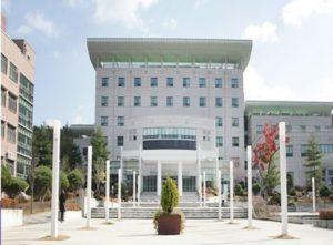 ハンバッ国立大学校舎写真/ Hanbat national university building