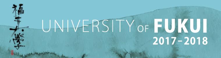 UNIVERSITY-OF-FUKUI-2017-2018