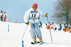 基礎スキーの大会に出場。結果は個人戦クラス5位と、好成績を残した。