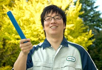奥野遼司さん