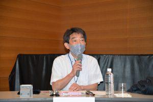 アレプロ事業のプロジェクトサブリーダーで耳鼻咽喉科 藤枝重治教授