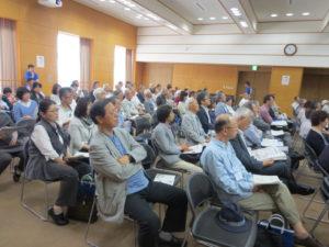 講演会の聴衆
