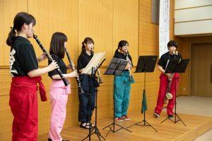 吹奏楽部による演奏3