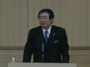 福田保健管理センター所長の開講挨拶