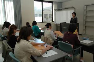 (開講の前に) 岩田看護学科長の挨拶