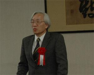 鈴木研究科長挨拶