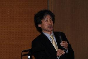 基調講演をする北海道大学 鈴木 誠教授