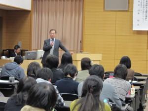 福井県立大学 清水 聡氏の講演