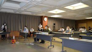 会場の永平寺町役場大会議室