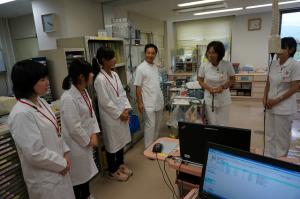 国立病院機構敦賀医療センターでの実習