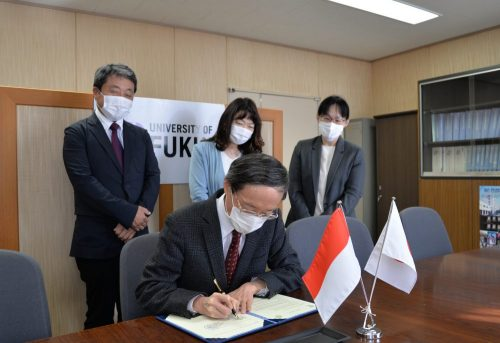 NAIKI Hironobu, Dean of the Faculty of Medical Sciences